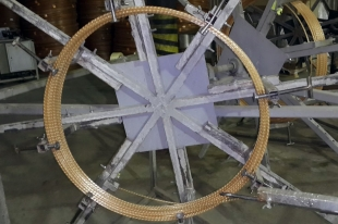 Намотка стеклопластиковой арматуры